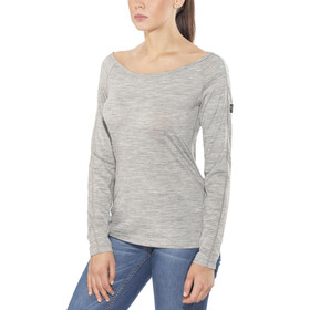 super.natural Scoop Neck LS 175 Women Ash Melange